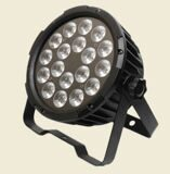 Led Mini 18x1 w RGB Led Flat Par Can Light