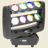 Led Double Row moving head spider light Full Color