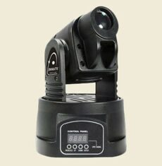 Led 1x15 w Mini moving head light